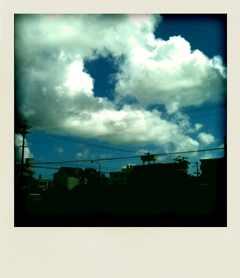 台風が去った後は